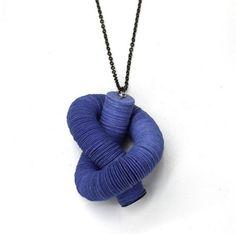 Pendant. Collezione Laguna. Paper jewels by Creazioni Zuri.