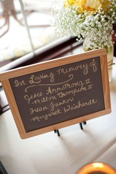 chalk memorial sign