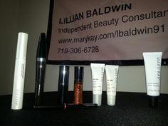 Primers for your eyes,  mascara, eyeliner, lipliners, satin lip set and acne gel ..must haves. ..