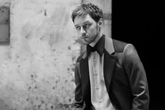 Backstage Images from James McAvoy for Prada Menswear Fall/Winter 2014 Campaign | FashionMention