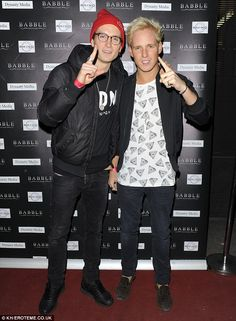 Jamie Laing posed alongside co-star Oliver Proudlock Made In Chelsea Binky, Mums The Word, Call My Friend, Fashion Beauty, Mens Fashion, Night Out Outfit, Stylish Boys, Lost Boys, West London