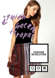 Be! 24.04 Associació Moda Sstenible Barcelona Fashion Revolution Day #pasarelasostenible #insideout #whomadeyourclothes