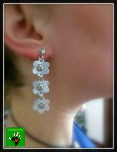 Big Earrings, Diamond Earrings, Pearl Earrings, Drop Earrings, Capsule, New Hobbies, Diy Jewelry, Tutorial, Jewels