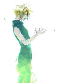 Cloud Strife (Final Fantasy VII) Fanart by Suwi Kabotyaumai