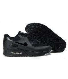 on sale 7265b 787a4 Nike Air Max 90 Hyperfuse Premium - Noir out - Homme Sneakers Pas cher  Usine Running