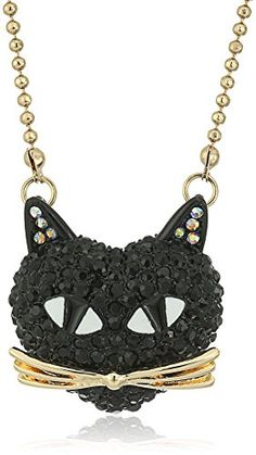 If you know a crazy cat lady or someone who just loves cats,  consider getting them some women's cat jewelry.  You will enjoy cat jewelry sets, cat earrings, cat rings, cat bracelets  and also cat broaches and pins. Either  way here are some cute cat fashion accessories       Betsey Johnson