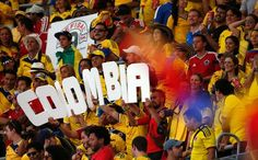 colombia soccer fans colombia vs urugway - Google Search