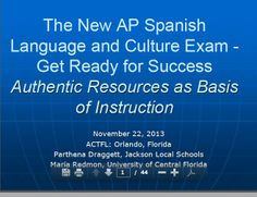 the new Spanish Ap language and culture test - get ready for success