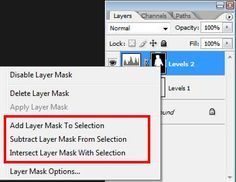 Photoshop Tutorials: Some Layer Mask Tricks from Damien Symonds
