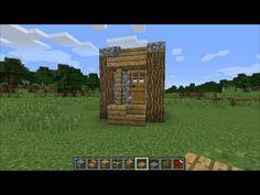 【マインクラフト】簡単な小さい家の作り方 【WiiU・PSVita・PS4対応 Minecraft】 - YouTube