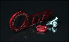 Blackworks Racing Billet REAR Tow Hook - RED