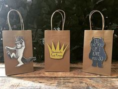 Where the wild things are inspired goody bags! @sweetcreationsbysusie #wherethewildthingsare #wherethewildthingsareparty #handmade #handmadegoodybags #handmadefavorbags #handmadepartygoods #handmadepartydecor #handmadepapergoods #papergoods #partydecor #partygoods #kids #kidsparty #birthday #birthdayparty #3boysandamom_