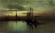 Lev Lagorio (1826-1905) - White Night on the Neva