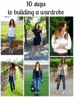 10 Steps to Building a Wardrobe | The Rich Life (on a budget)