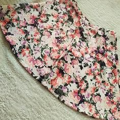 Floral skirt New high waisted floral skirt Skirts Midi