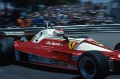 Clay Regazzoni, Ferrari 312T2, 1976 Monaco Grand Prix