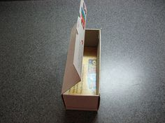 Gift Box from a Cereal Box