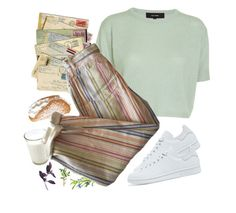 """Untitled #1464"" by paper-freckles ❤ liked on Polyvore featuring Isabel Marant and adidas Originals"