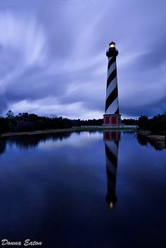 Sunset over the Emerald Isle, North Carolina | See more about nature art, beach…