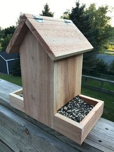 jdfgjdhhfuhghhdhf - 0 results for diy bird feeder Wood Bird Feeder, Bird Feeder Plans, Bird House Feeder, Bird Feeders, Homemade Bird Houses, Bird Houses Diy, Woodworking Projects Diy, Diy Wood Projects, Woodworking Tools
