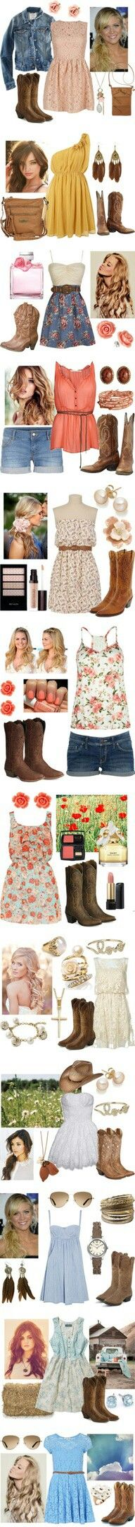 sweet summer country dress up
