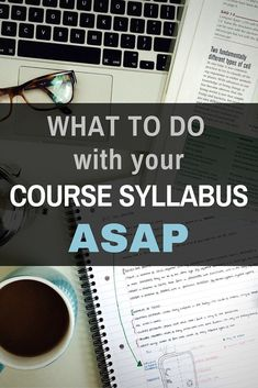 What to do when you get a college class syllabus - These tips will help you start the semester right! Valuable info for helping you to get good grades by being prepared. College Success, College Classes, College Life, Education College, Espn College, Education Degree, College Agenda, College Basketball, College Semester