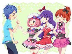 Saints!!Naru,Mia and Aira