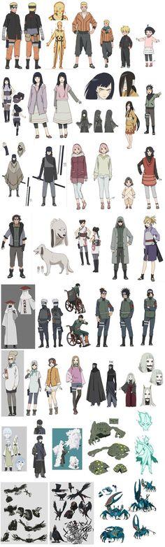 The Last: Naruto the Movie: Sage Tailed Beast Mode Naruto, Hinata, Kakashi Art (RUMOR) | Saiyan Island:
