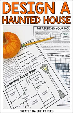Halloween Project-Based Learning for math and reading for and grades has never been more fun and engaging! Use the Design a Haunted House PBL unit to make October math more creative. Teachers and students love this Halloween activities unit! Halloween Math, Halloween Activities, Classroom Activities, Classroom Ideas, Halloween Tricks, Science Classroom, Art Classroom, Professor, 5th Grade Math