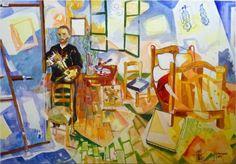 """Toni Montero y Daniel Peribañez: """"Van Gogh en El Dormitorio en Arlés"""" (2008)"""