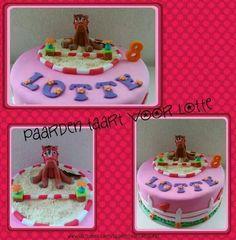 Paarden taart/ Horse cake
