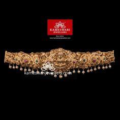 Pearl Jewelry, Diamond Jewelry, Gold Jewelry, Vaddanam Designs, Waist Jewelry, Indian Bridal Jewelry Sets, Work Belt, Gold Jewellery Design, Jewelry Collection