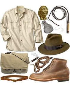 Indiana Jones costume | Indiana jones hat