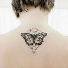 Unique Magical Butterfly Tattoos