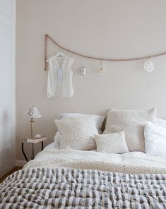 Prachtige, knusse slaapkamer.