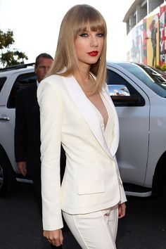 Taylor Swift | 33 Women Who've Rocked Suits Better Than Men