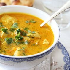 Indian chicken soup with apple, ginger and chili! This one is … – About Healthy Meals Soup Recipes, Chicken Recipes, Dinner Recipes, Cooking Recipes, Chicken Soup, Food Is Fuel, A Food, Food And Drink, Indian Food Recipes