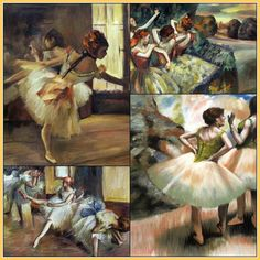 Degas's oil paintings reveal his fascination with the beauty and sophistication of the ballet. Find a stunning variety of Degas oil reproductions at http://www.overstockart.com/degasgallery.html