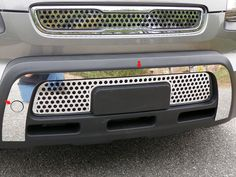 SOUL 2010-2011 KIA (1 piece: Front Bumper Accent) FB10830