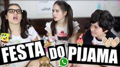 Festa do Pijama Criança Vs. Adolescente - Marina Inspira Ft. Canal do Tu...