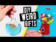 DIY WEIRD Last Minute Christmas Gifts You NEED to try! - YouTube