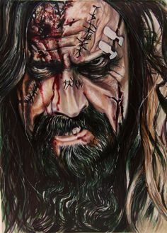 | Rob Zombie by Veronica Strandberg |