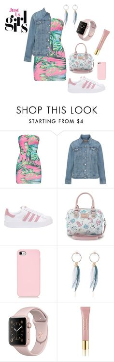 """""""F17"""" by hillaryranjbar ❤ liked on Polyvore featuring Levi's, adidas Originals, Loungefly and AERIN"""