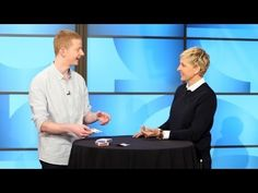 Ellen Gets Totally Stumped By This Amazing Magician  This is amazing!