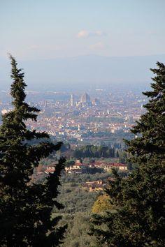 La vista dalla nostra scuola su Firenze http://www.lolivoitaliano.it/