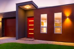 New custom home, built by Nuovo homes