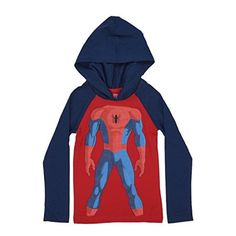 Spiderman Boys Toddler Pull Over Hoodies (3T 47f2c95be