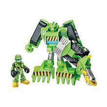 "Playskool Transformers Rescue Bot - Boulder The Construction-Bot - Hasbro - Toys ""R""  for Joshua"