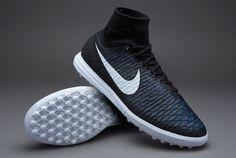 Nike MagistaX Proximo Street TF - Mens Football Boots - Turf Trainer - Black  White-Black-Turquoise Blue 8ae24cb5f4