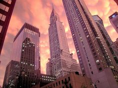 The iconic Chrysler Building in New York City!